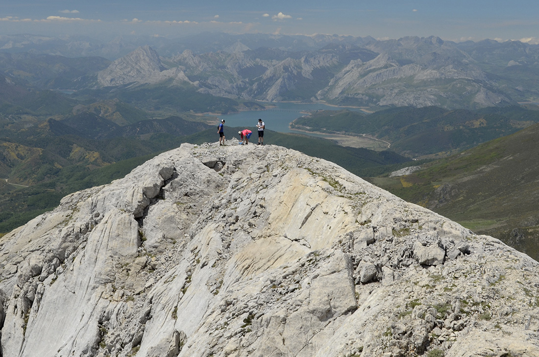 Cumbre oeste, La Montaña Palentina