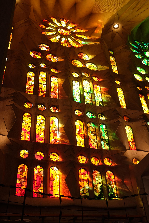 Vidrieras-Sagrada Familia-Barcelona