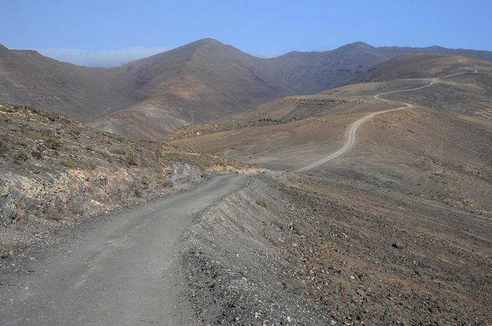 Ruta pico Zarza-Fuerteventura