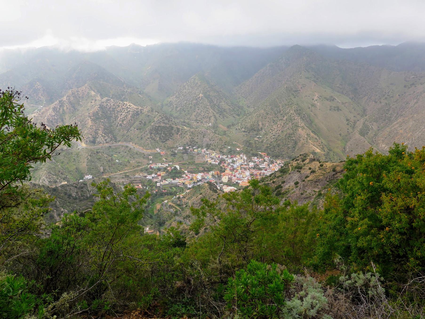 La Gomera. Travesía Hermigua, Agulo y Vallehermoso