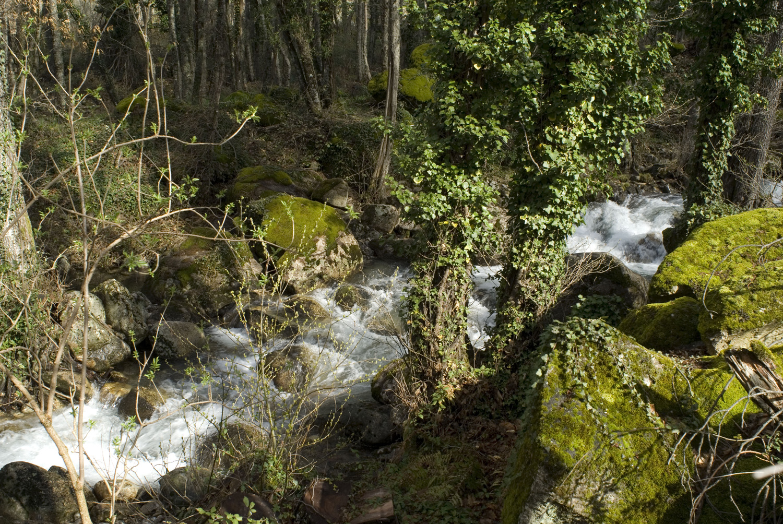 El Chorro de Hervás en el Valle de Ambroz-Cáceres