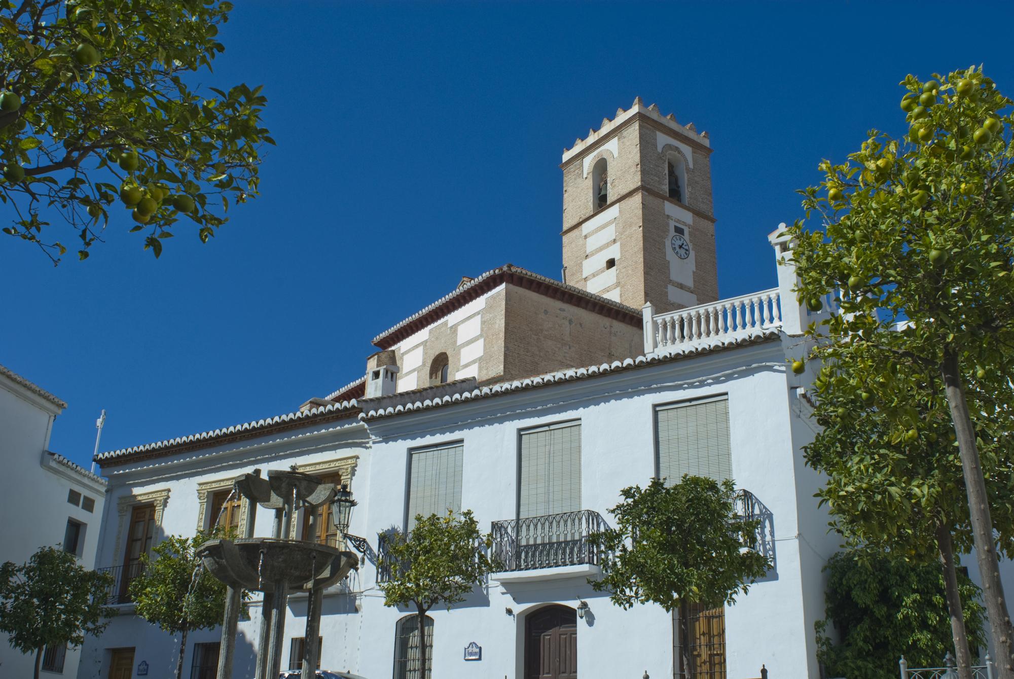 Iglesia mudéjar-Salobreña-Granada