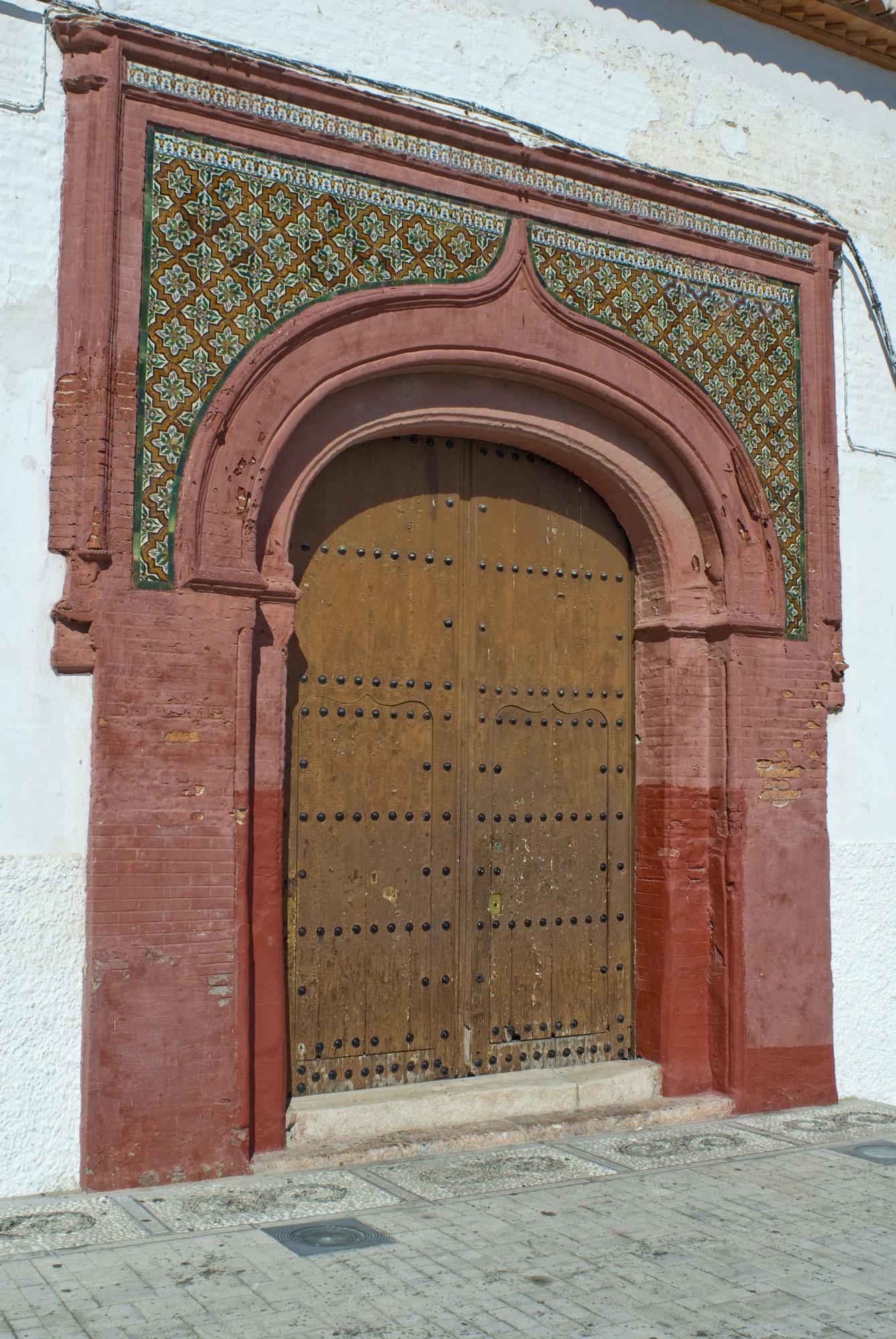 Portada Iglesia mudéjar-Salobreña-Granada