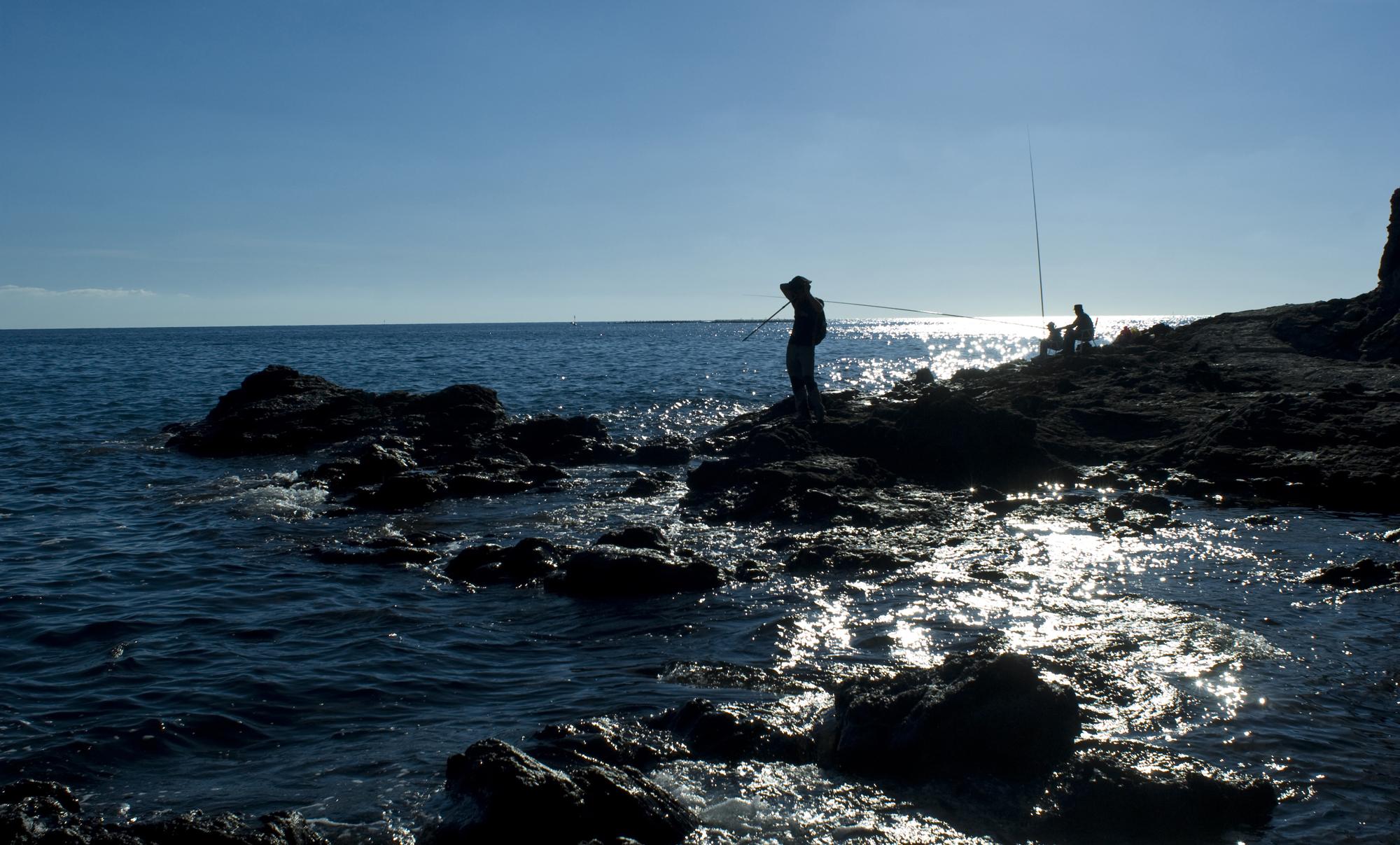 Acantilado de la costa Tropical-Salobreña-Granada