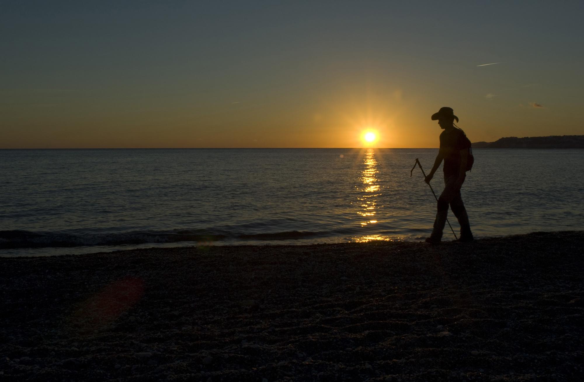 Atardecer en la Playa de La Guardia-Salobreña-Granada