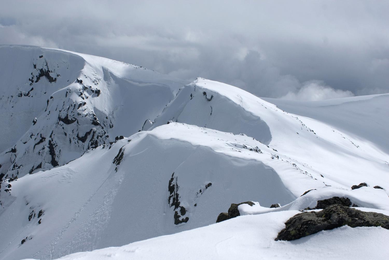 Cornisas del pico Belesal-Gredos