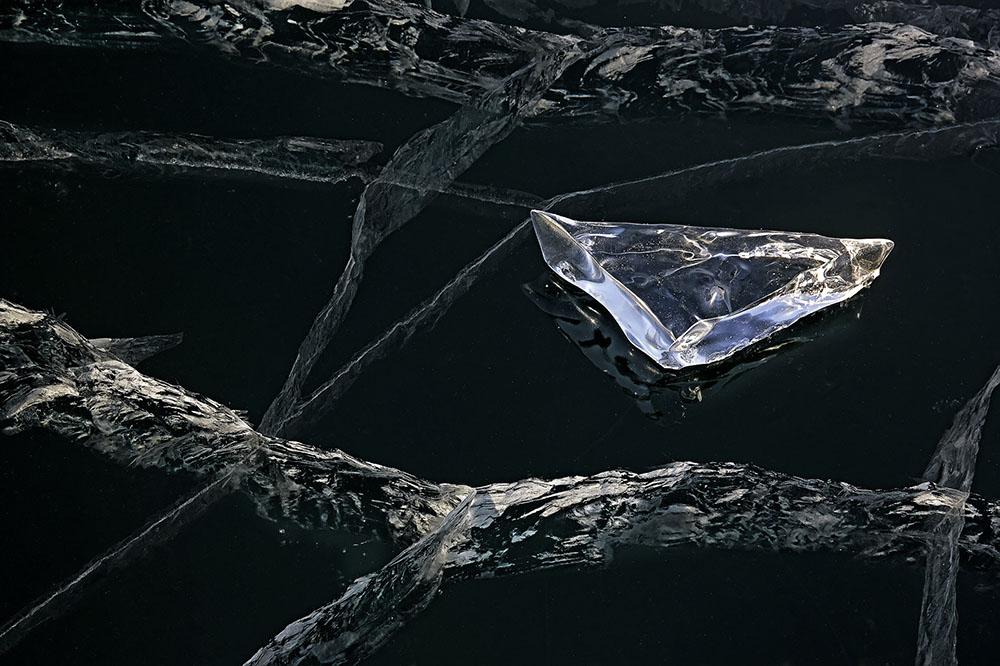 WONDER OF ICE - ALESSANDRA MENICONZI (SUIZA) - Mención de Honor: Foto Creativa - Abstracta