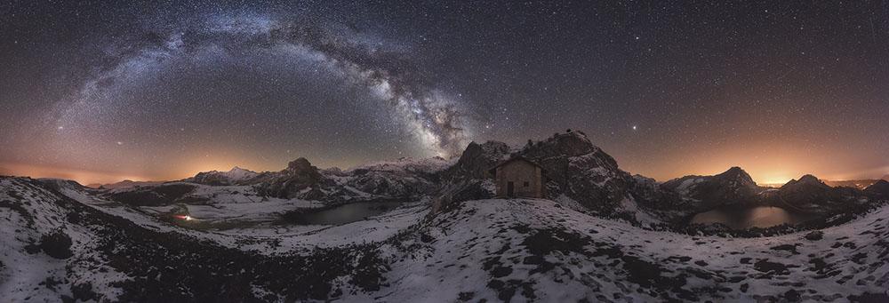 NOCHE EN PICOS DE EUROPA - JULIO CASTRO (ESPAÑA) - Mención de Honor: Paisaje de Montaña