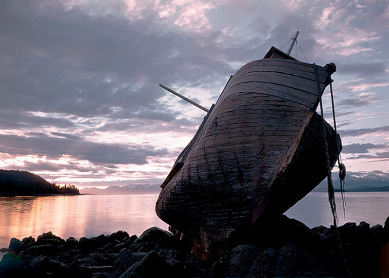 El Nafragio del arca en Salt Chuck
