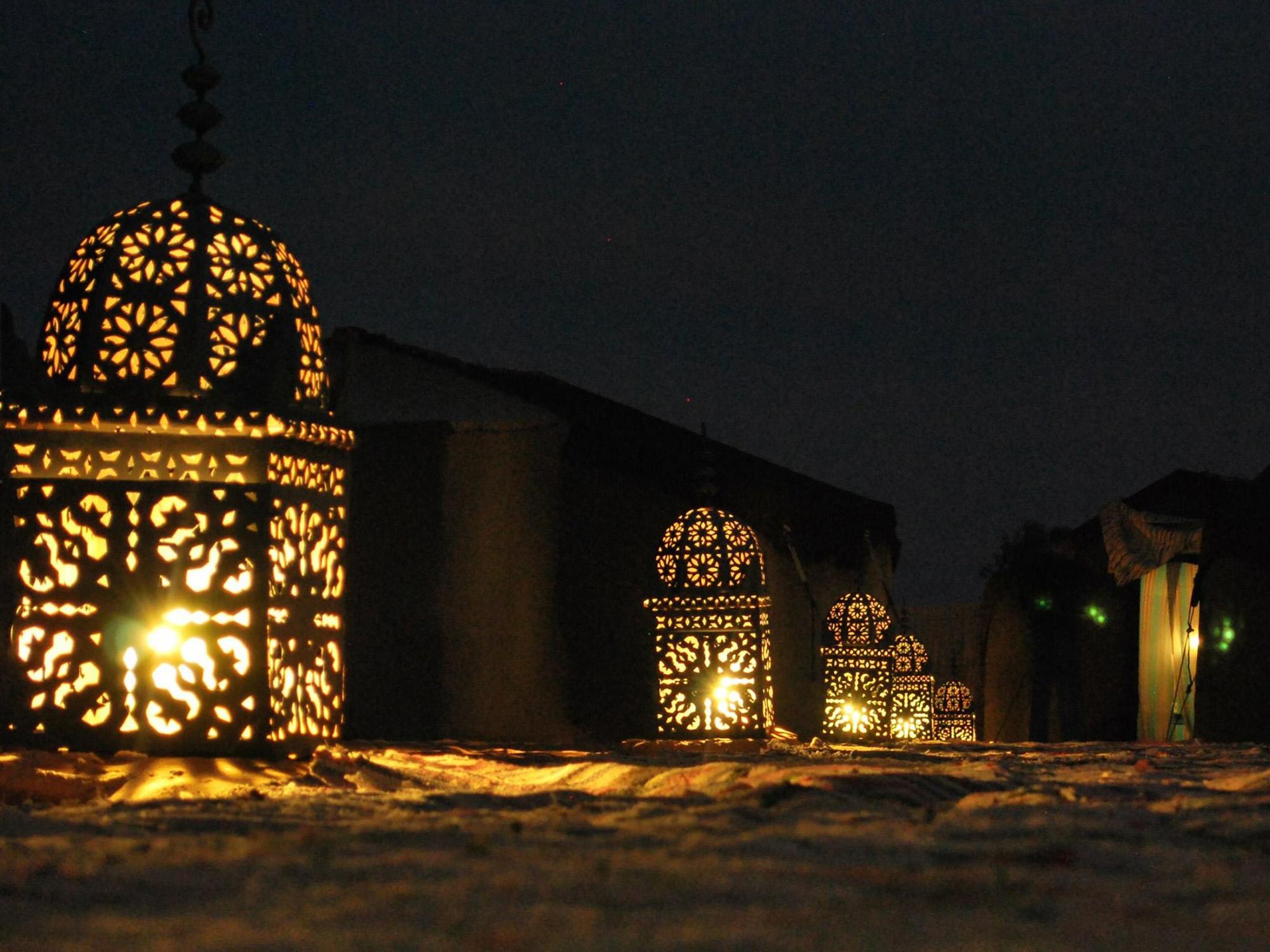 LUCES CAMP-Marruecos