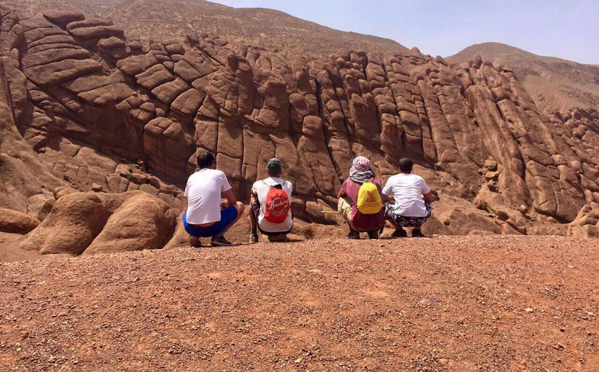 TREKKING EN VALLE DE DADES-Marruecos