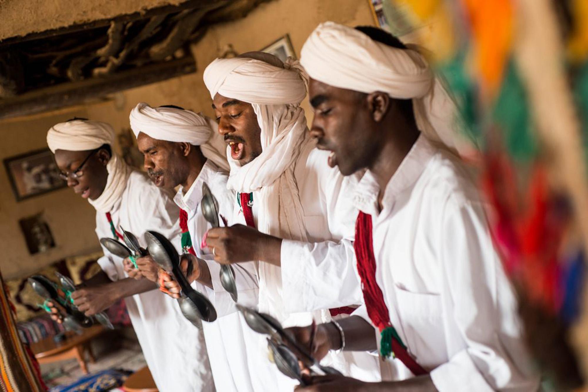 Los Gnawas sur de Marruecos