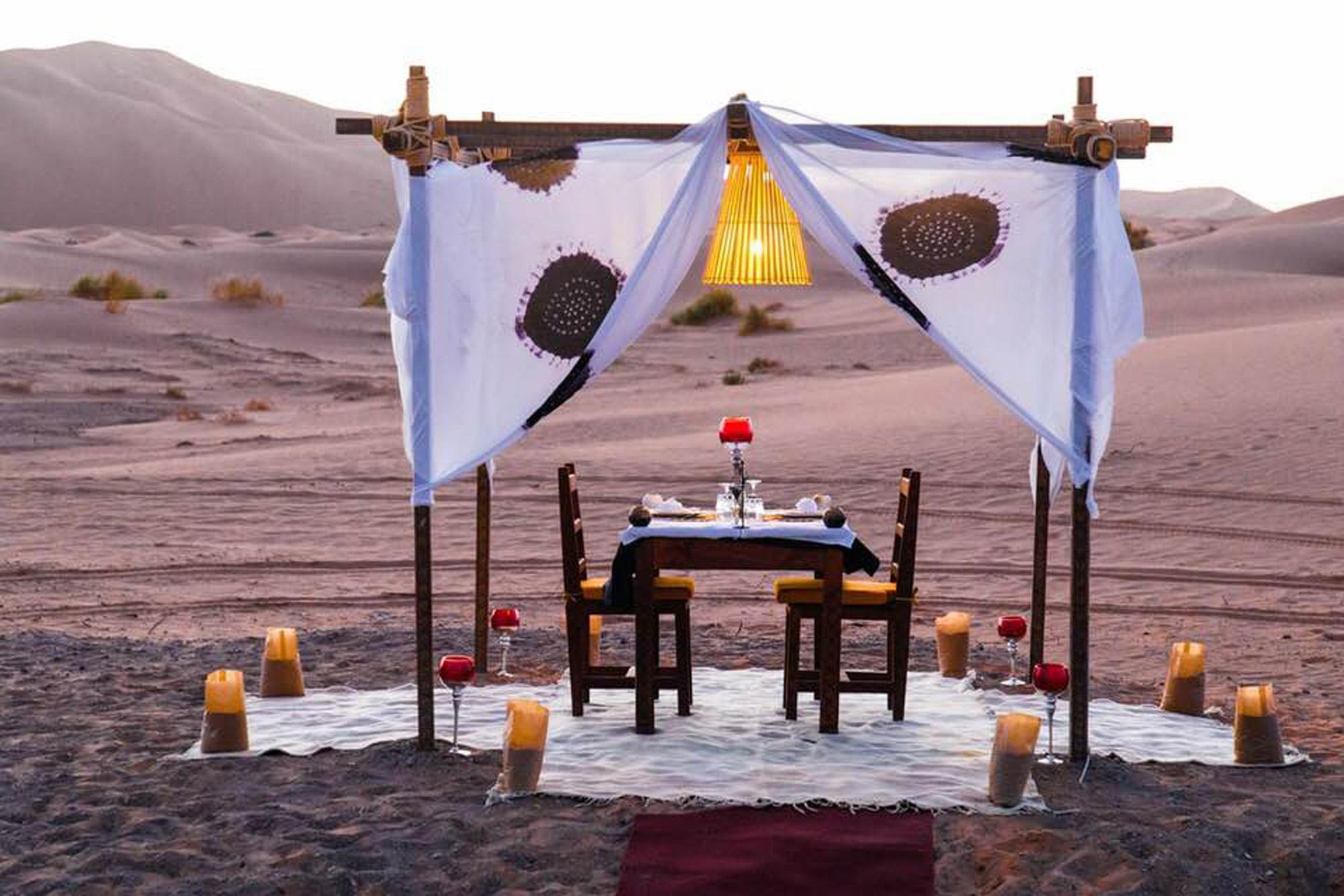 Nuestro camp-Marruecos