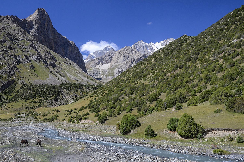 Río Ak Tubek-Kirguistán