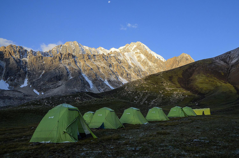 Campamento Ak Tubek 3.660m-Kirguistán