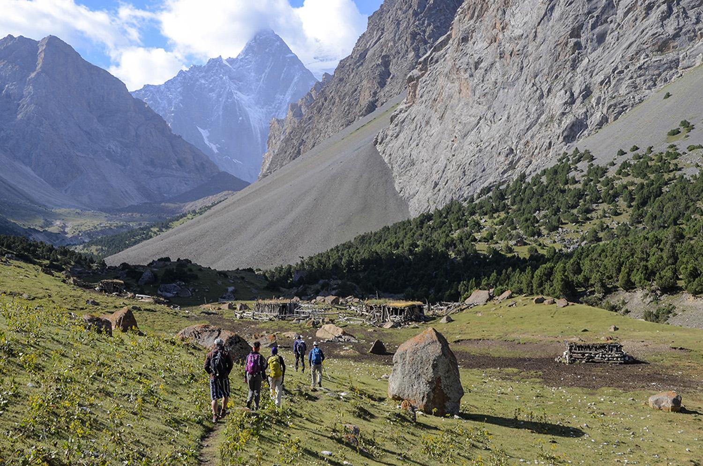 Cabañas de pastores-Kirguistán
