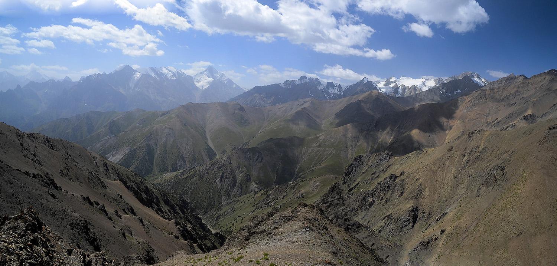 Dzhalgychy Pass 3774m-Kirguistán