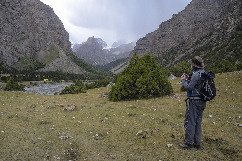 Campamento Orto-Chashma-Kirguistán