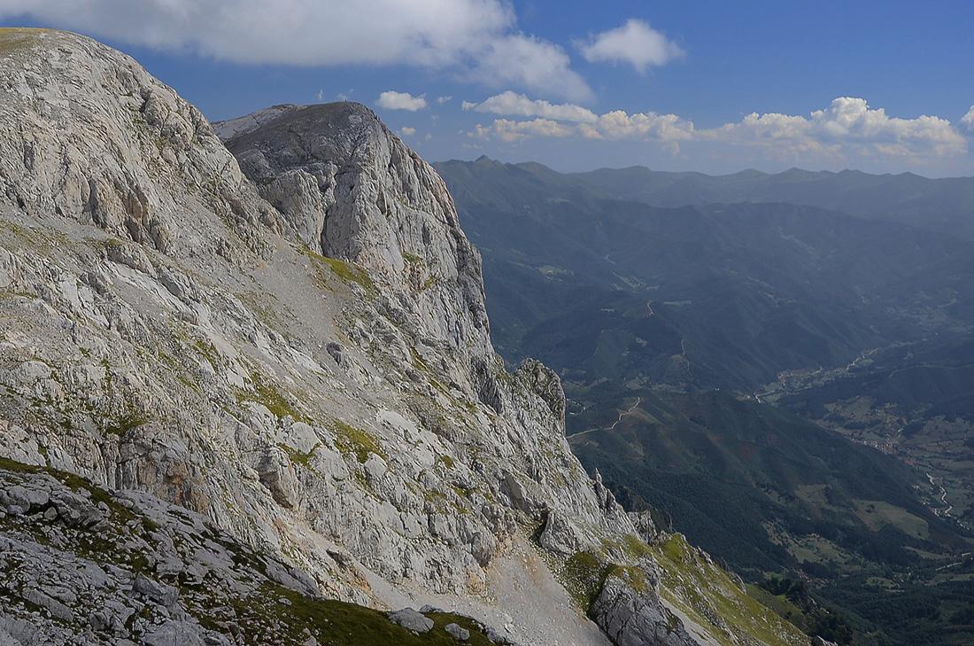 Relieve cántabro-Picos de Europa
