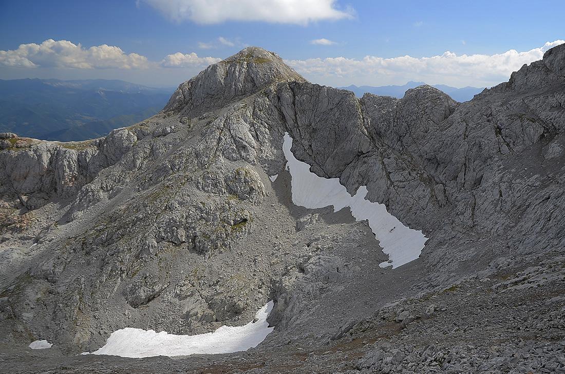 Hoya del Evangelista y Silla del Caballo Cimero-Picos de Europa