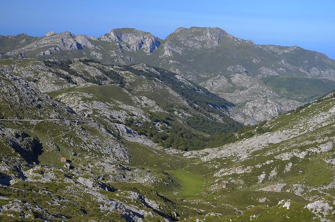Pista al Casetón de Ándara-Picos de Europa