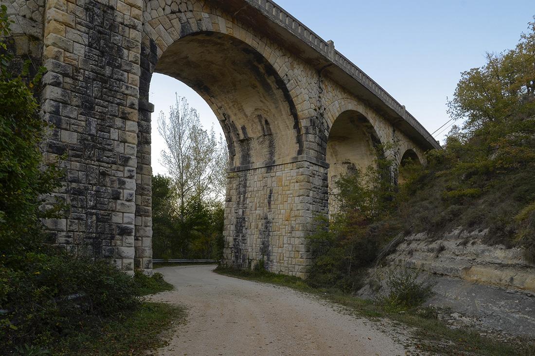 Puente vía verde a La Engaña-Burgos