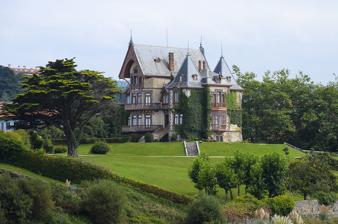 Casa del Duque de Almodóvar del Río. Comillas-Cantabria