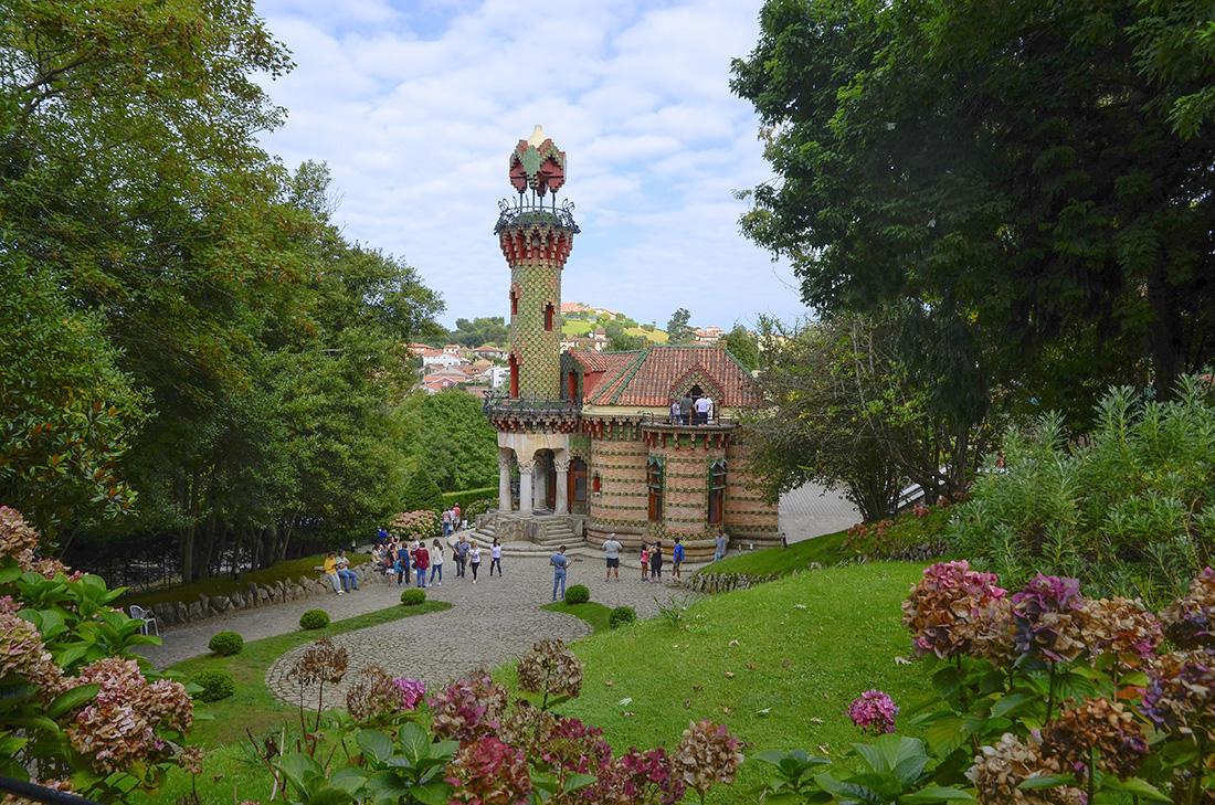 Capricho de Gaudí. Comillas-Cantabria
