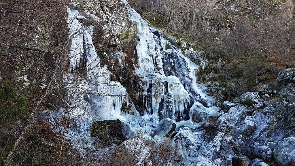Cascada de Sotillo, Parque Natural de Sanabria-Zamora