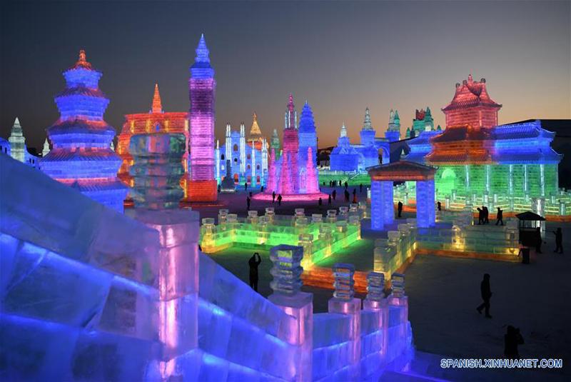 Festival del hielo-Harbin