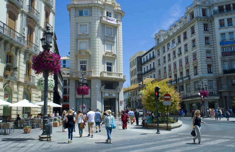 Puerta Real-Granada