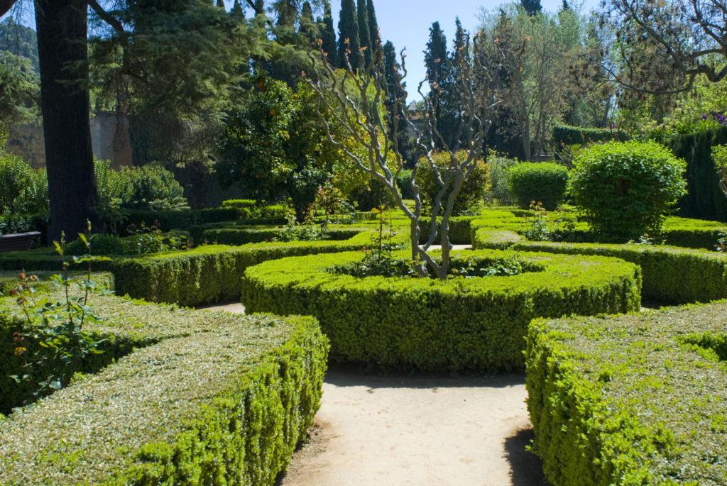 Mirador Jardines del Palacio Nazarí de los Infantes-Granada
