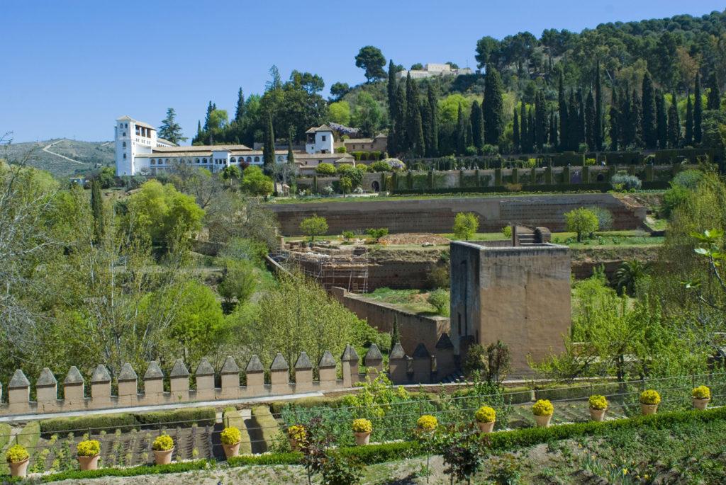 Jardines del Palacio Nazarí de los Infantes-Granada