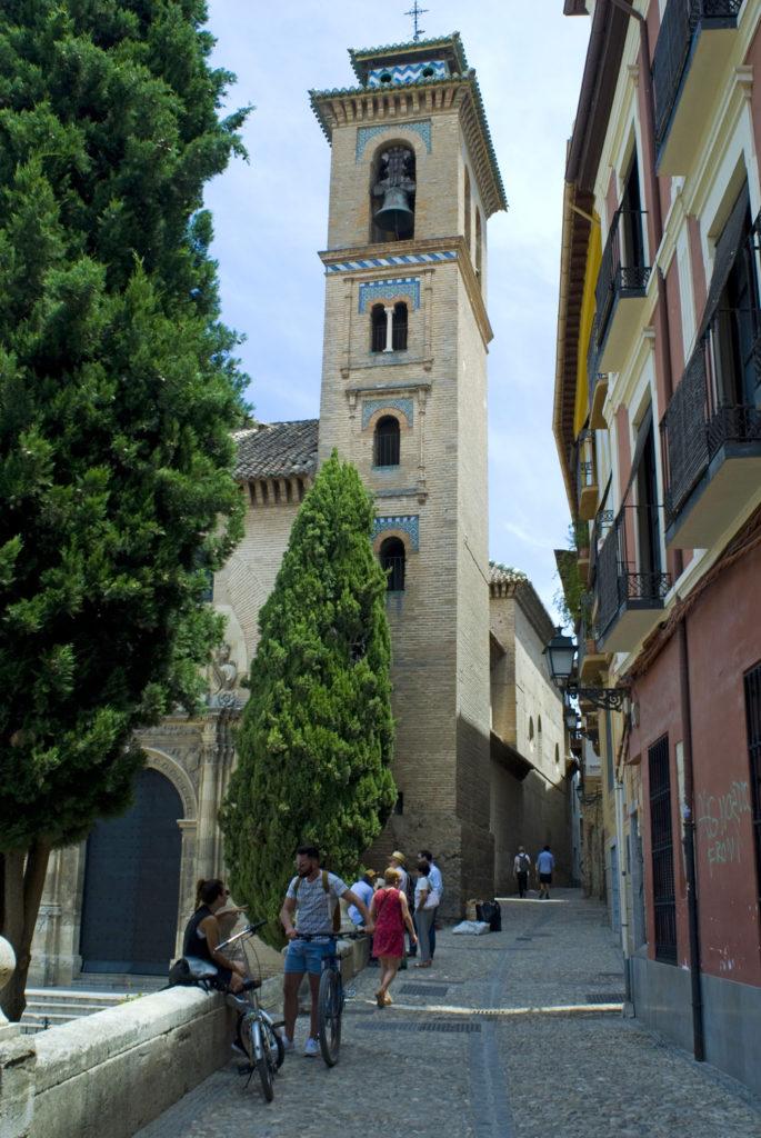 Minarete de Santa Ana la Real-Granada