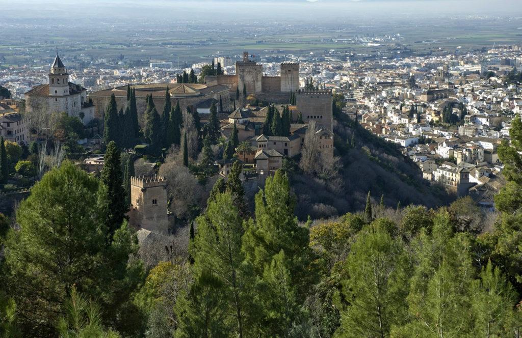 Mirador Silla del Moro-Granada
