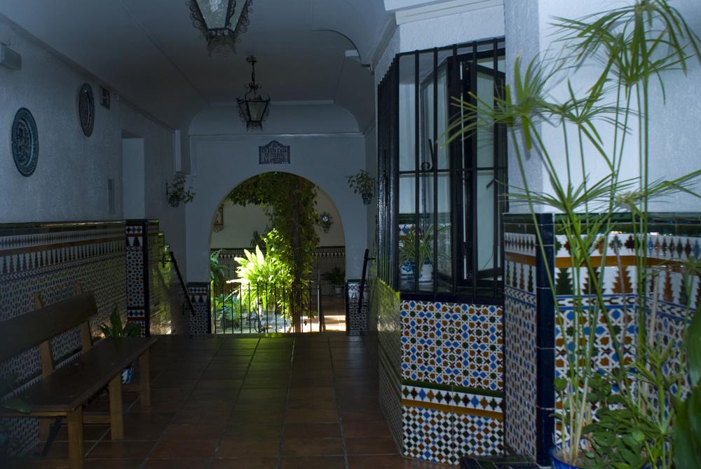 Patio casa del Barranco del Abogado-Granada
