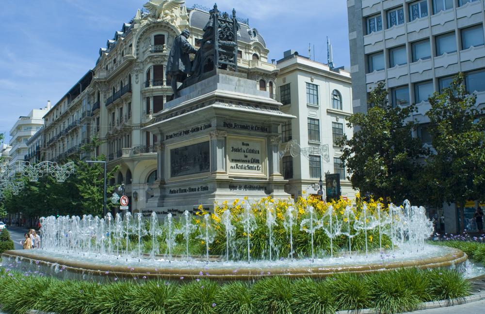 Plaza Isabela Católica-Granada