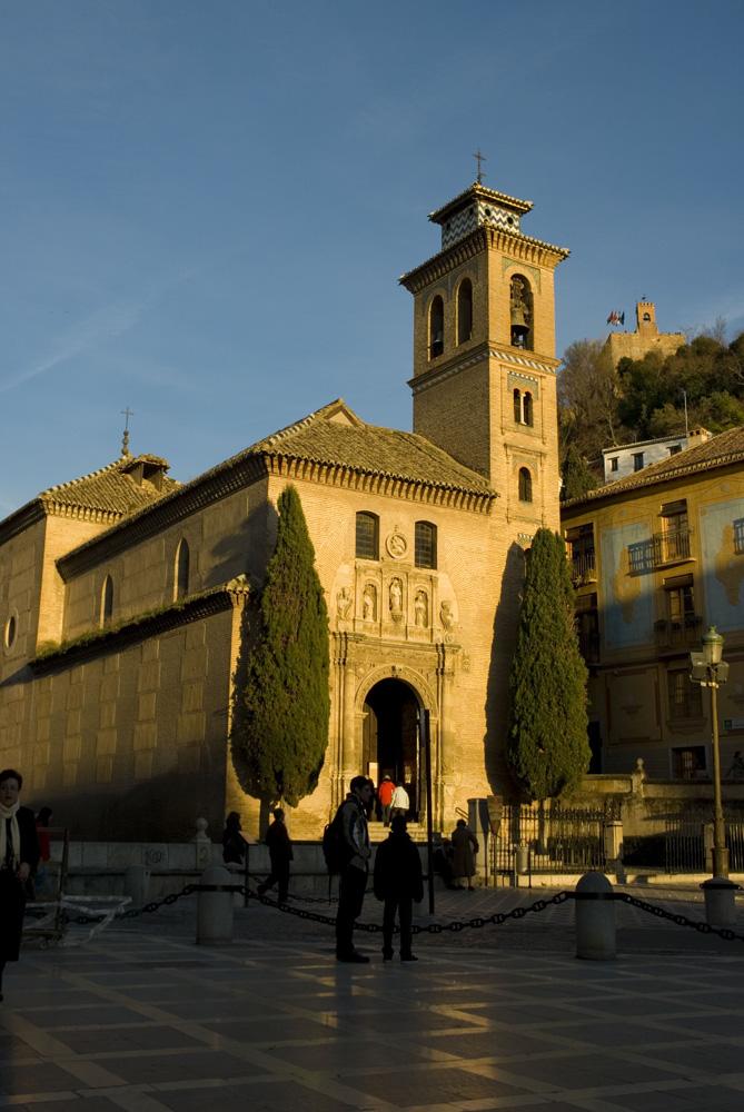Plaza Nueva-Iglesia de Santa Ana-Granada