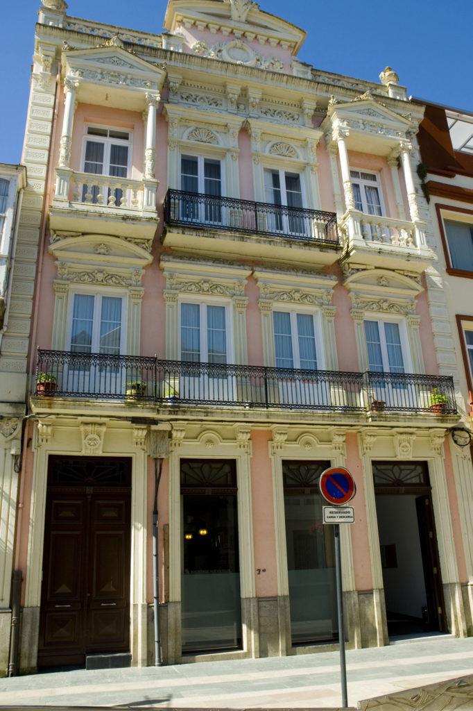 Casas señoriales-Ortigueira