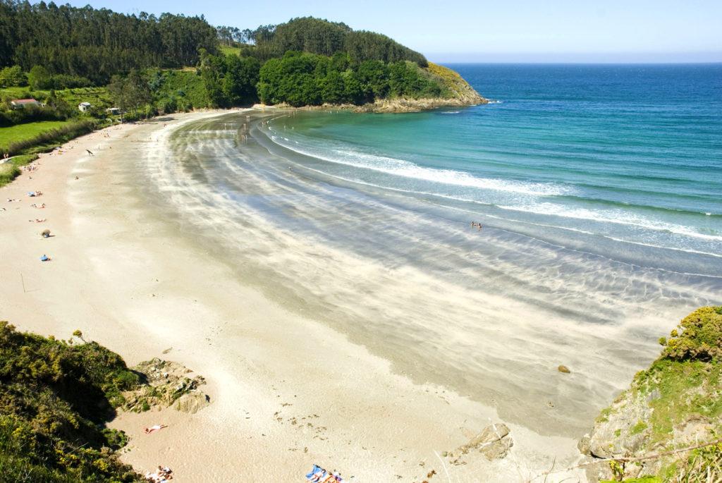 Playa de Fornos-Cariño