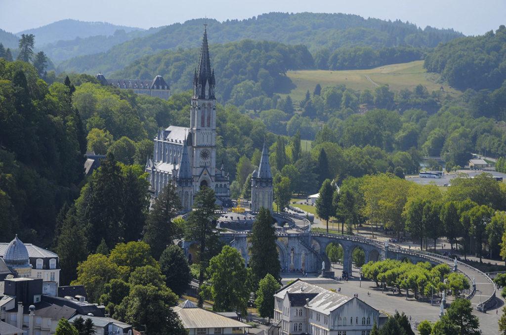 Basílica-de-Lourdes-Francia