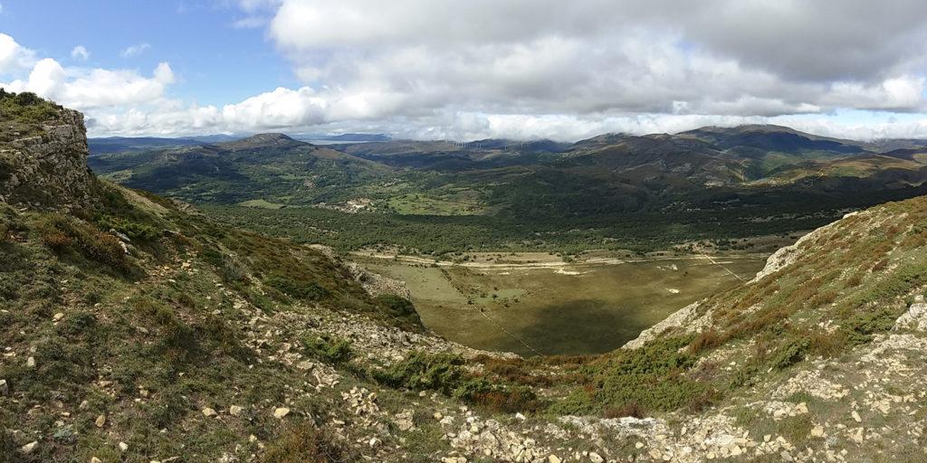 Panorámica desde Dulla-Burgos