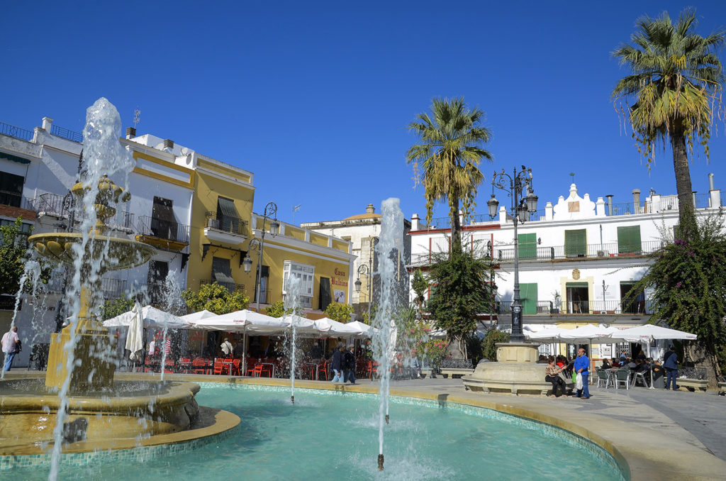 Plaza-del-Cabildo-Sanlúcar de Barrameda-Cádiz