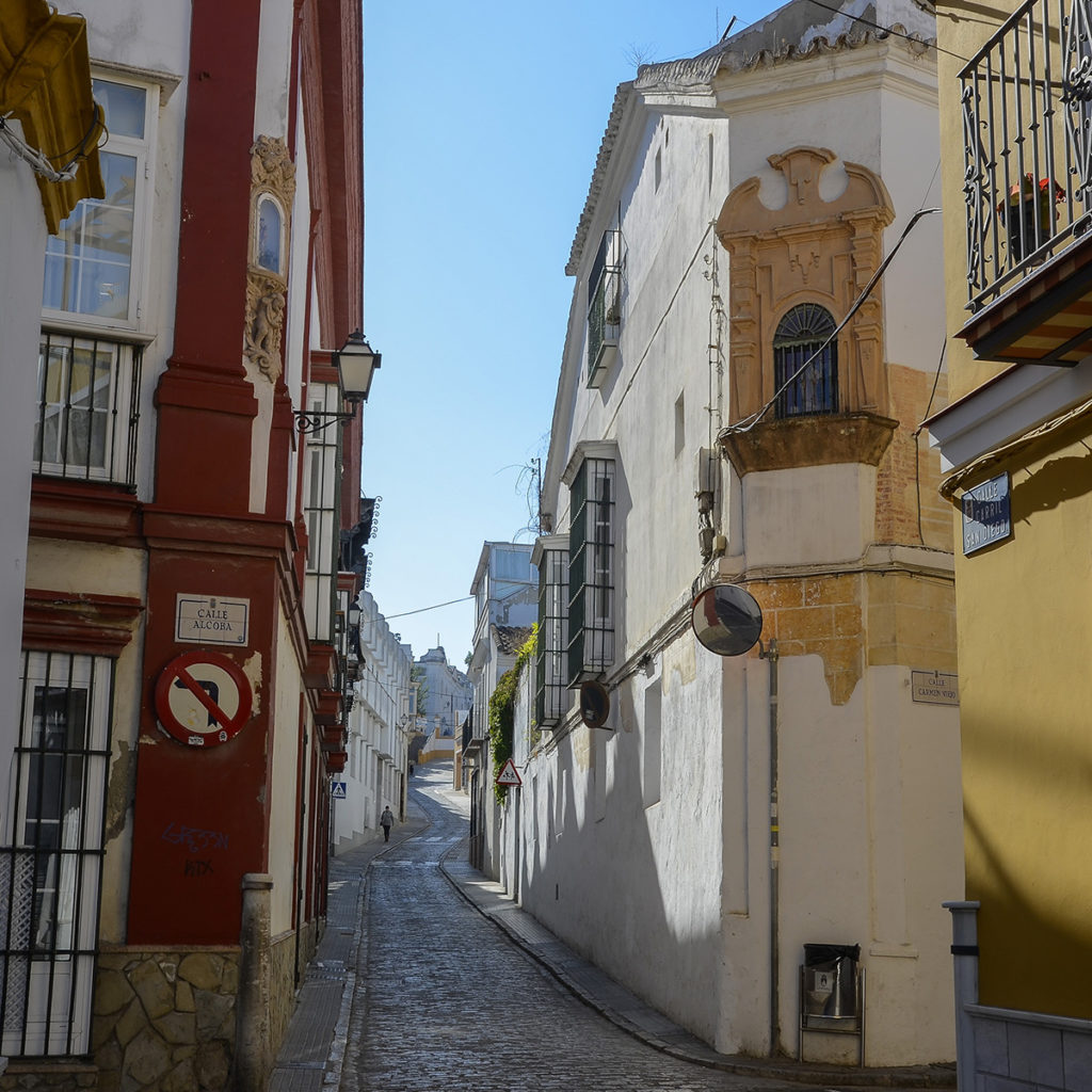 Calle-Sanlúcar de Barrameda-Cádiz