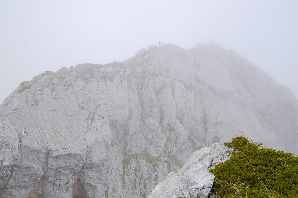 Pico Salamón desde el pico del Medio-León