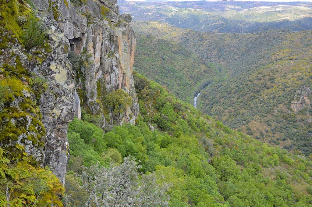 MiradorTeso San Cristóbal-Arribes del Duero-Salamanca