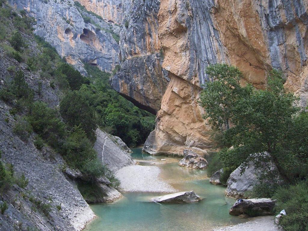 Cañones de la sierra de Guara-Huesca